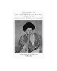 The Bulletin of the Cleveland Museum of ... Volume Vol. 9 by Badger, Joseph