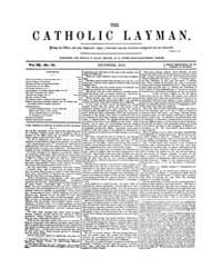 The Catholic Layman : 1854 ; Dec. No. 36... Volume Vol. 3 by Ellis, John, Tracy