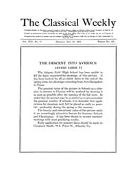 The Classical Weekly : 1921 ; May. 23 No... Volume Vol. 14 by Clarke, Keith