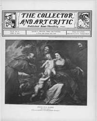 The Collector and Art Critic : 1900 ; Ap... Volume Vol. 2 by C., Preyer, David