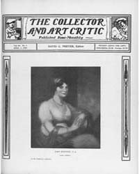 The Collector and Art Critic : 1905 ; Ap... Volume Vol. 3 by C., Preyer, David