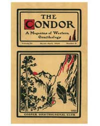 The Condor : 1909 ; Mar.-apr. No. 2 Vol.... Volume Vol. 11 by Patten, Michael