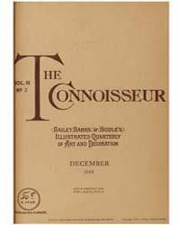 The Connoisseur : 1888 ; Dec. No. 2 Vol.... Volume Vol. 3 by Dalal, Nergis