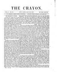 The Crayon : 1855 ; May 23 No. 21 Vol. 1 Volume Vol. 1 by