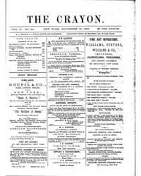 The Crayon : 1855 ; Nov. 14 No. 20 Vol. ... Volume Vol. 2 by