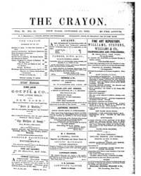 The Crayon : 1855 ; Oct. 10 No. 15 Vol. ... Volume Vol. 2 by