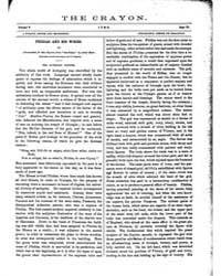 The Crayon : 1858 ; Jun. No. 6 Vol. 5 Volume Vol. 5 by