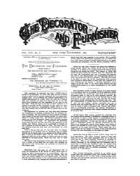 The Decorator and Furnisher : 1886 ; Sep... Volume Vol. 8 by M.S., Kathryn, Dethier