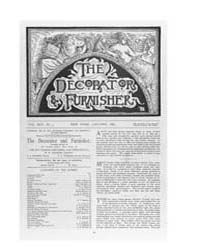 The Decorator and Furnisher : 1889 ; Jan... Volume Vol. 13 by M.S., Kathryn, Dethier