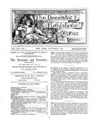 The Decorator and Furnisher : 1891 ; Dec... Volume Vol. 19 by M.S., Kathryn, Dethier