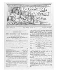 The Decorator and Furnisher : 1891 ; May... Volume Vol. 18 by M.S., Kathryn, Dethier