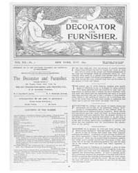 The Decorator and Furnisher : 1892 ; May... Volume Vol. 20 by M.S., Kathryn, Dethier