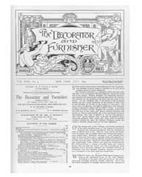 The Decorator and Furnisher : 1893 ; Jul... Volume Vol. 22 by M.S., Kathryn, Dethier