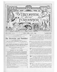 The Decorator and Furnisher : 1895 ; Jul... Volume Vol. 26 by M.S., Kathryn, Dethier