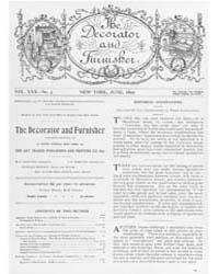 The Decorator and Furnisher : 1897 ; Jun... Volume Vol. 30 by M.S., Kathryn, Dethier
