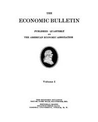 The Economic Bulletin : 1908 Dec. No. 4,... Volume Vol.1 by