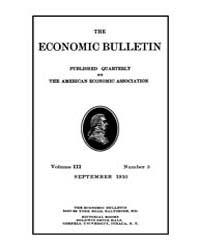 The Economic Bulletin : 1910 Sep. No. 3,... Volume Vol.3 by