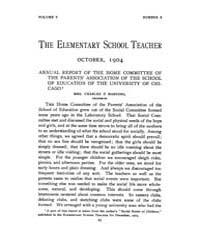 The Elementary School Teacher : 1904 Oct... Volume Vol.5 by Gersten,russell