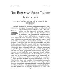 The Elementary School Teacher : 1913 Jan... Volume Vol.13 by Gersten,russell