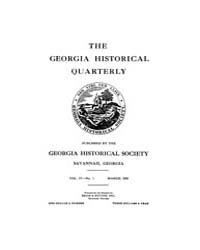The Georgia Historical Quarterly : 1920 ... Volume Vol.4 by