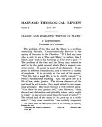 The Harvard Theological Review : 1917 Ju... Volume Vol.10 by