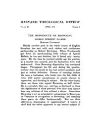 The Harvard Theological Review : 1918 Ap... Volume Vol.11 by