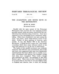 The Harvard Theological Review : 1918 Ju... Volume Vol.11 by