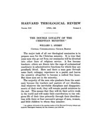 The Harvard Theological Review : 1920 Ap... Volume Vol.13 by