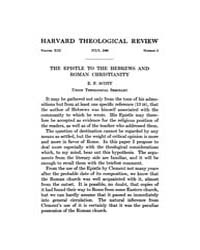 The Harvard Theological Review : 1920 Ju... Volume Vol.13 by