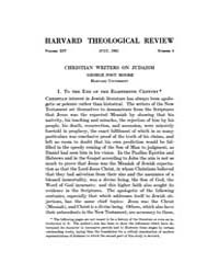 The Harvard Theological Review : 1921 Ju... Volume Vol.14 by
