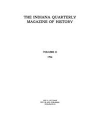 The Indiana Quarterly Magazine of Histor... Volume Vol.2 by