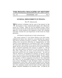 The Indiana Quarterly Magazine of Histor... Volume Vol.3 by