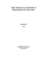 The Indiana Quarterly Magazine of Histor... Volume Vol.4 by