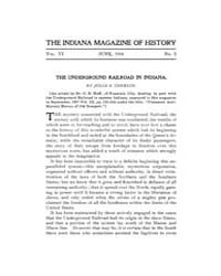 The Indiana Quarterly Magazine of Histor... Volume Vol.6 by