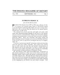 The Indiana Quarterly Magazine of Histor... Volume Vol.7 by