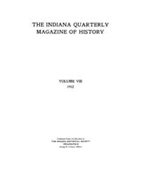 The Indiana Quarterly Magazine of Histor... Volume Vol.8 by