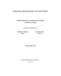 The Indiana Quarterly Magazine of Histor... Volume Vol.9 by