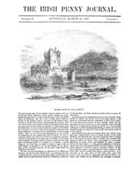 The Irish Penny Journal : 1841 Mar 13 : ... Volume Vol.1 by