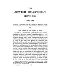 The Jewish Quarterly Review : 1896 Apr. ... Volume Vol.5 by