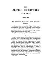 The Jewish Quarterly Review : 1905 Apr. ... Volume Vol.18 by
