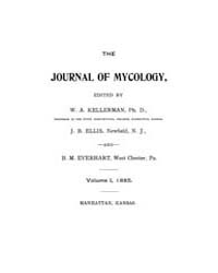The Journal of Mycology : 1885 Jan No. 1... Volume Vol.17 by