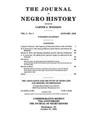 The Journal of Negro History : 1916 Jan ... Volume Vol.1 by Franklin, V.P.