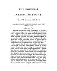 The Journal of Negro History : 1922 Oct ... Volume Vol.3 by Franklin, V.P.