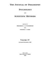 The Journal of Philosophy : Psychology a... Volume Vol.4 by