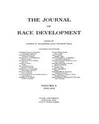 The Journal of Race Development : 1912 J... Volume Vol.3 by