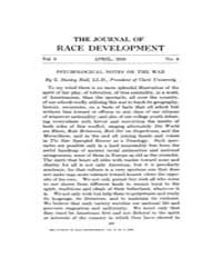 The Journal of Race Development : 1916 A... Volume Vol.6 by