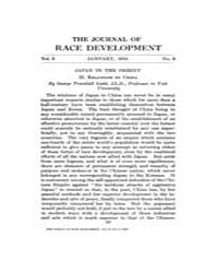 The Journal of Race Development : 1916 J... Volume Vol.6 by
