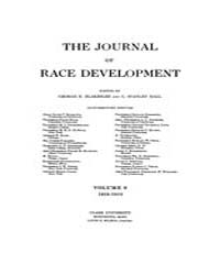 The Journal of Race Development : 1918 J... Volume Vol.9 by