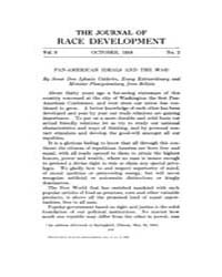 The Journal of Race Development : 1918 O... Volume Vol.9 by
