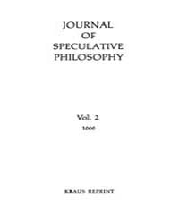 The Journal of Speculative Philosophy : ... Volume Vol.2 by Stuhr,john